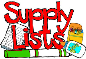 Supply Lists ad